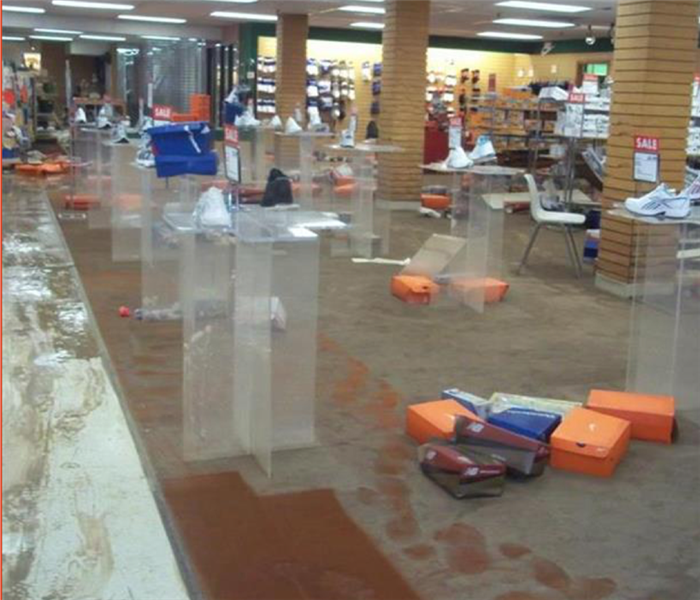 Water Floods Retail Store